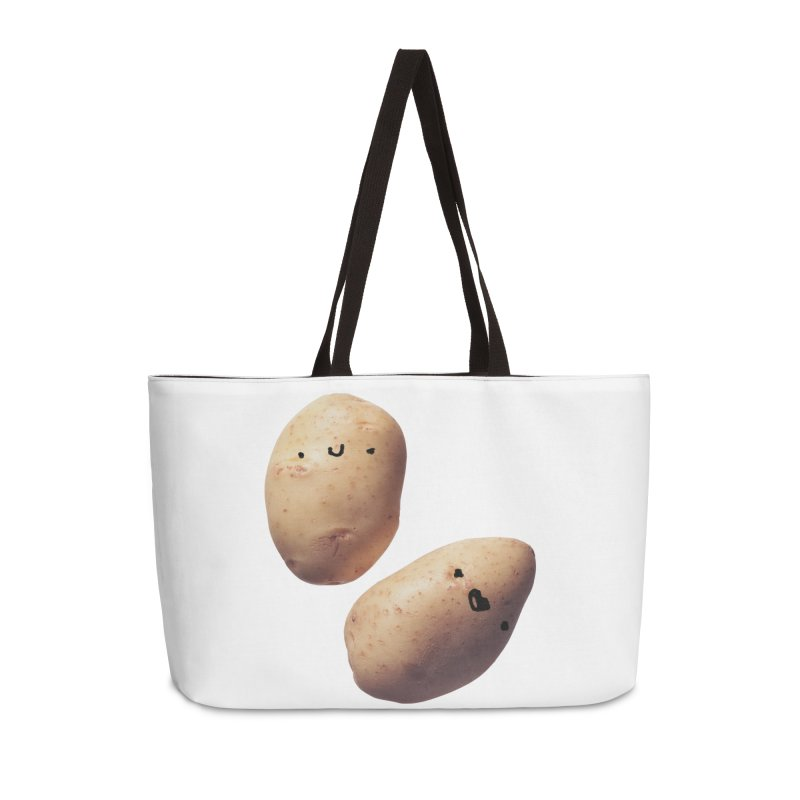 Oh Potatoes Accessories Bag by rubberdanpants