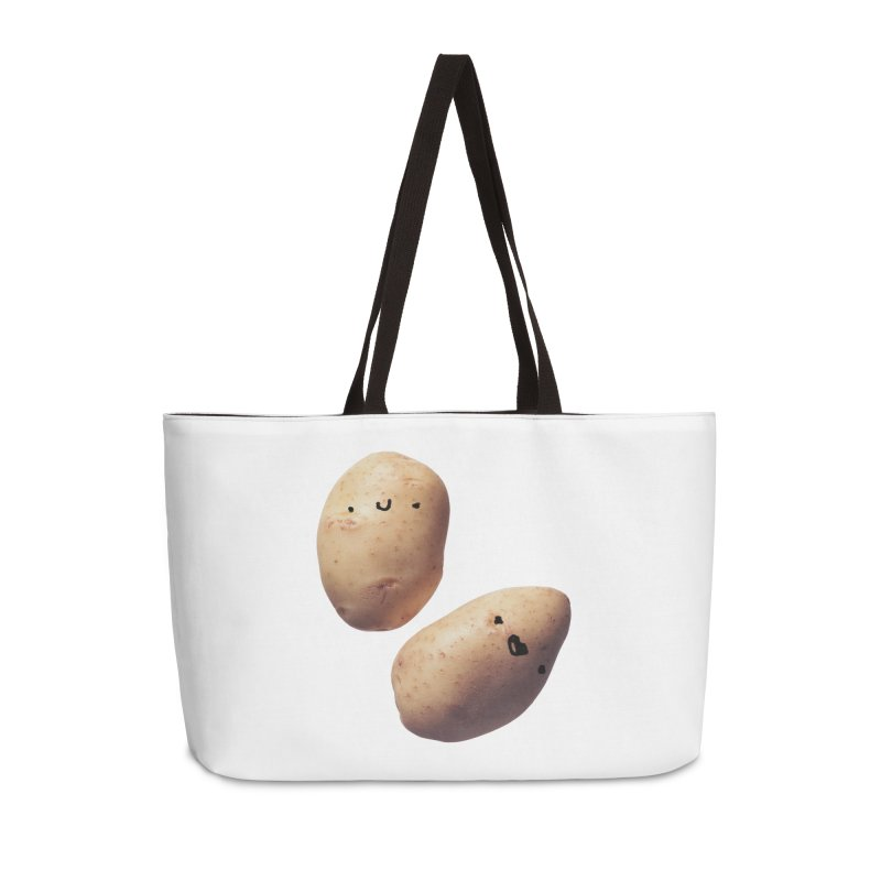 Oh Potatoes in Weekender Bag by rubberdanpants