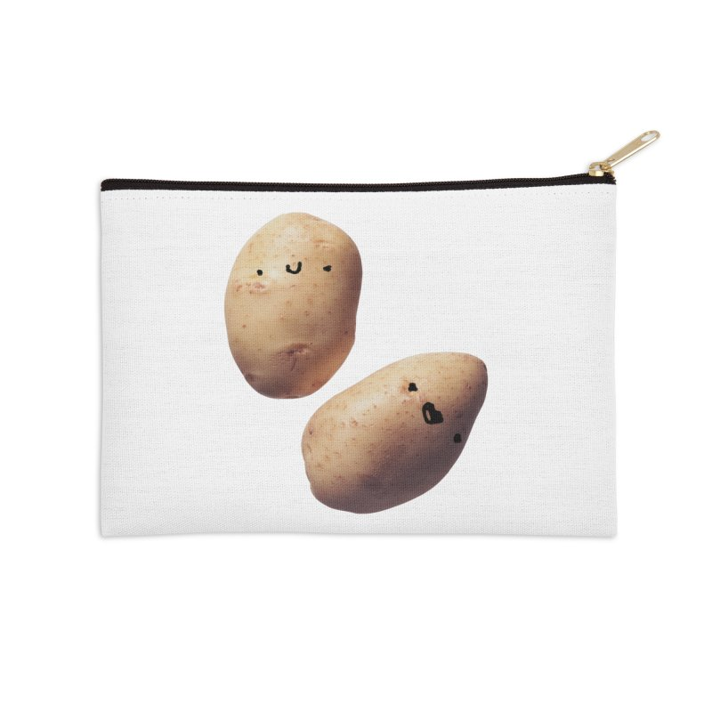 Oh Potatoes Accessories Zip Pouch by rubberdanpants