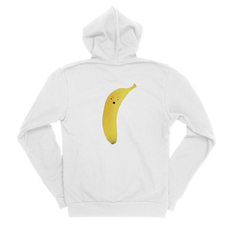 bana Women's Sponge Fleece Zip-Up Hoody by rubberdanpants