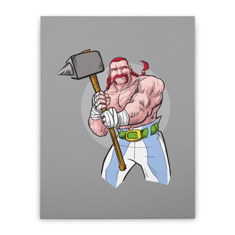 Ready 2 Rumble Home Stretched Canvas by rubioric's Artist Shop