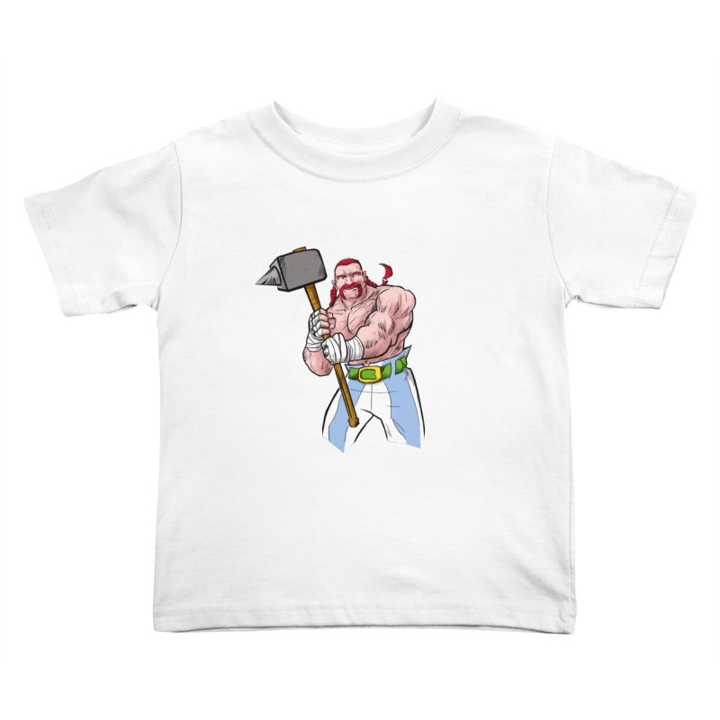 Ready 2 Rumble Kids Toddler T-Shirt by rubioric's Artist Shop