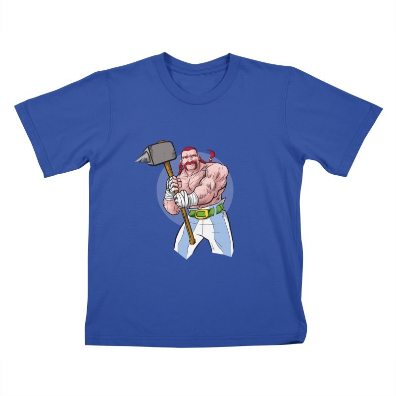 Ready 2 Rumble Kids T-Shirt by rubioric's Artist Shop