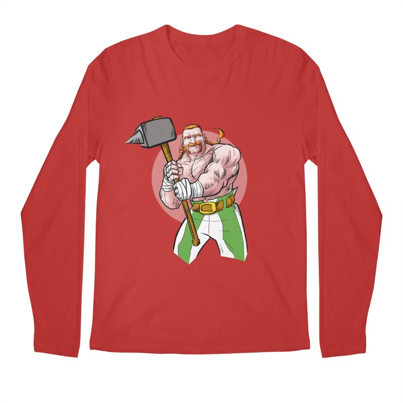 Celtic Warrior Men's Longsleeve T-Shirt by rubioric's Artist Shop