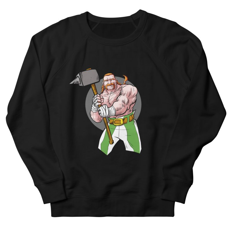 Celtic Warrior Men's Sweatshirt by rubioric's Artist Shop
