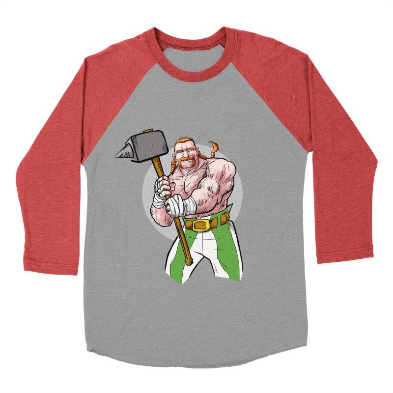 Celtic Warrior Women's Baseball Triblend T-Shirt by rubioric's Artist Shop