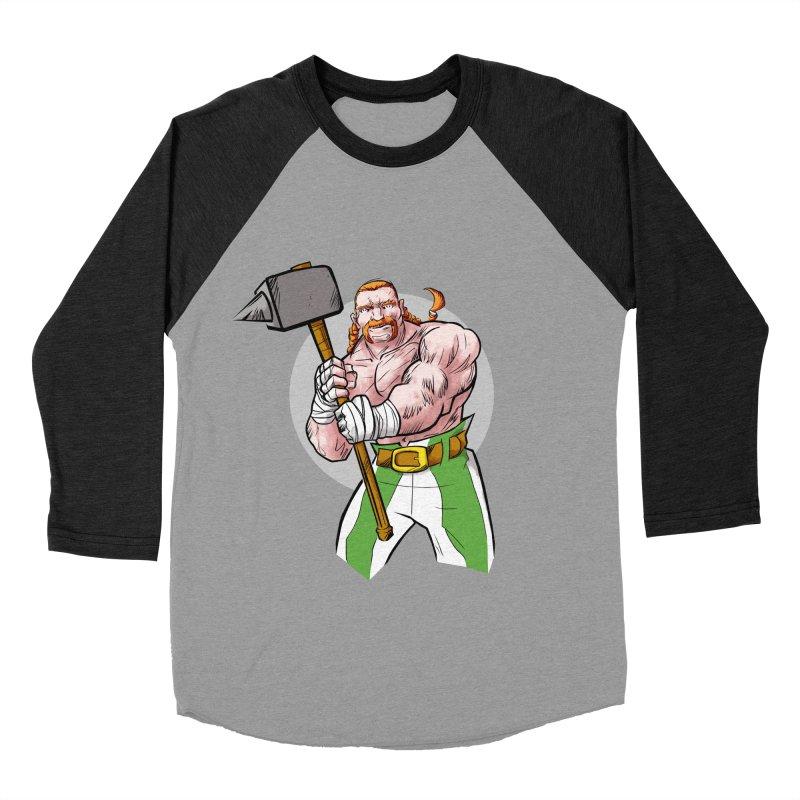 Celtic Warrior Men's Baseball Triblend T-Shirt by rubioric's Artist Shop