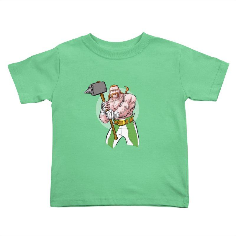 Celtic Warrior Kids Toddler T-Shirt by rubioric's Artist Shop