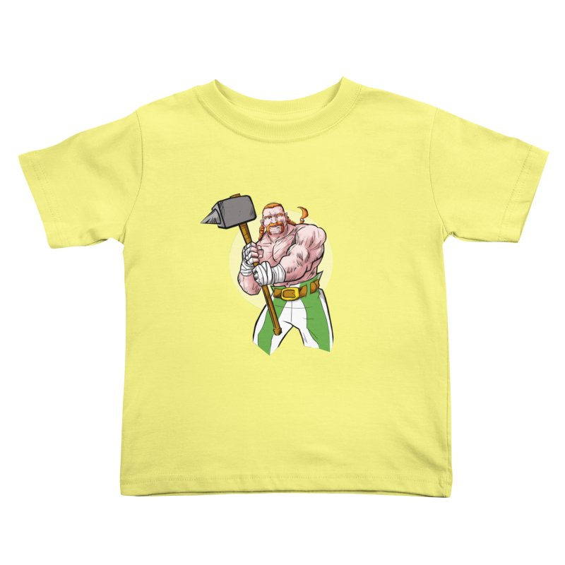 Celtic Warrior Kids Toddler T-Shirt by rubioric's Artist Shop