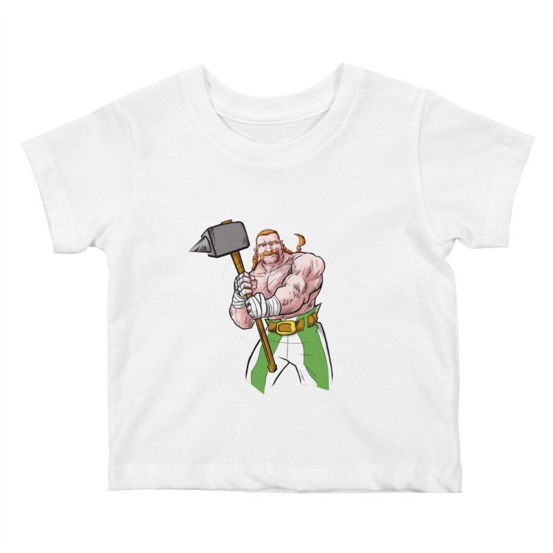 Celtic Warrior Kids Baby T-Shirt by rubioric's Artist Shop