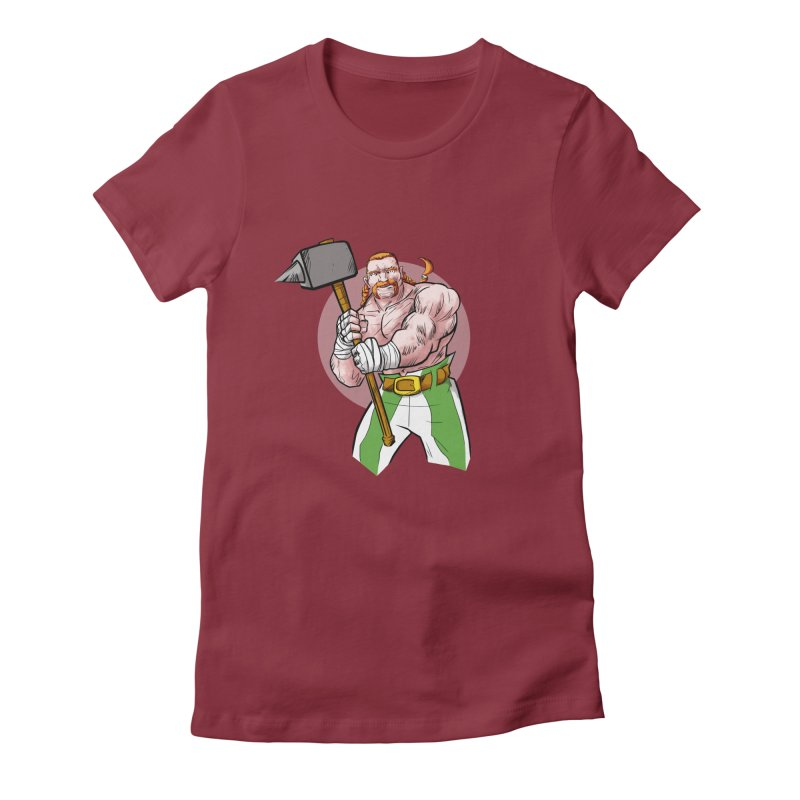 Celtic Warrior Women's Fitted T-Shirt by rubioric's Artist Shop