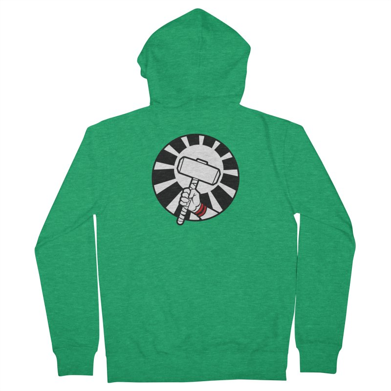 Beware my Aesir Power! Men's Zip-Up Hoody by rubioric's Artist Shop