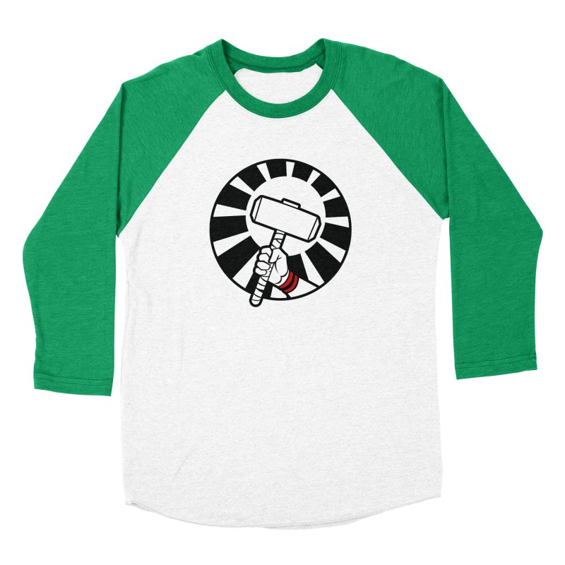 Beware my Aesir Power! Men's Baseball Triblend T-Shirt by rubioric's Artist Shop