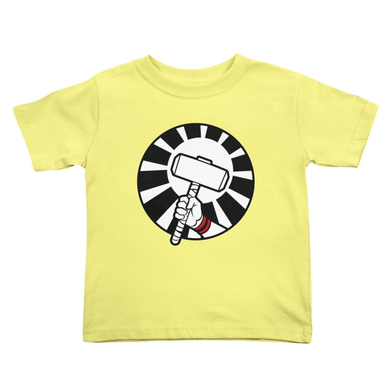 Beware my Aesir Power! Kids Toddler T-Shirt by rubioric's Artist Shop
