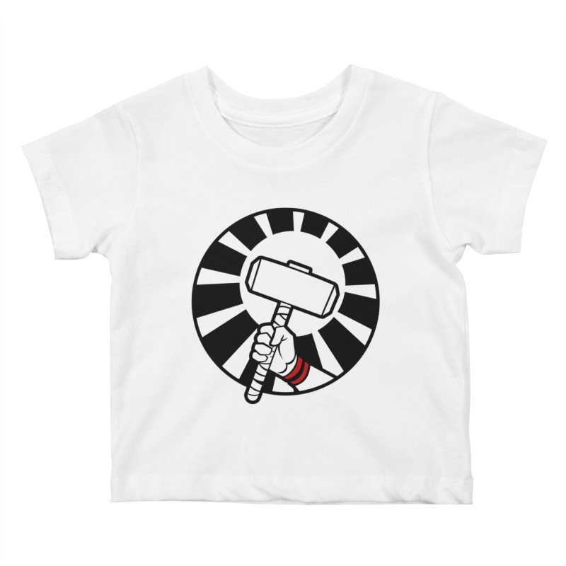 Beware my Aesir Power! Kids Baby T-Shirt by rubioric's Artist Shop