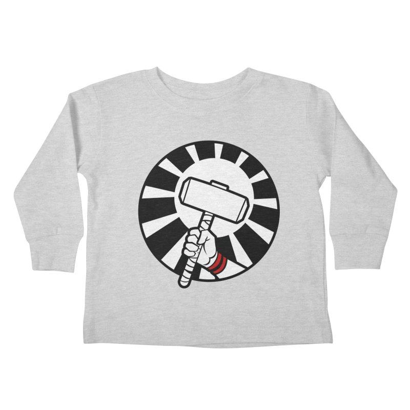 Beware my Aesir Power! Kids Toddler Longsleeve T-Shirt by rubioric's Artist Shop