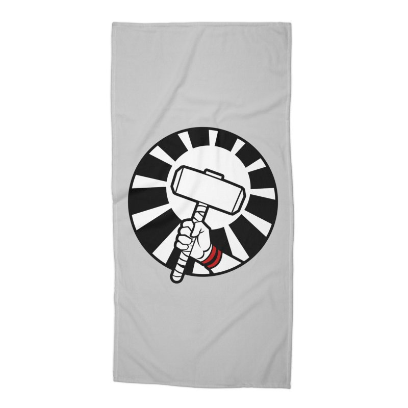 Beware my Aesir Power! Accessories Beach Towel by rubioric's Artist Shop