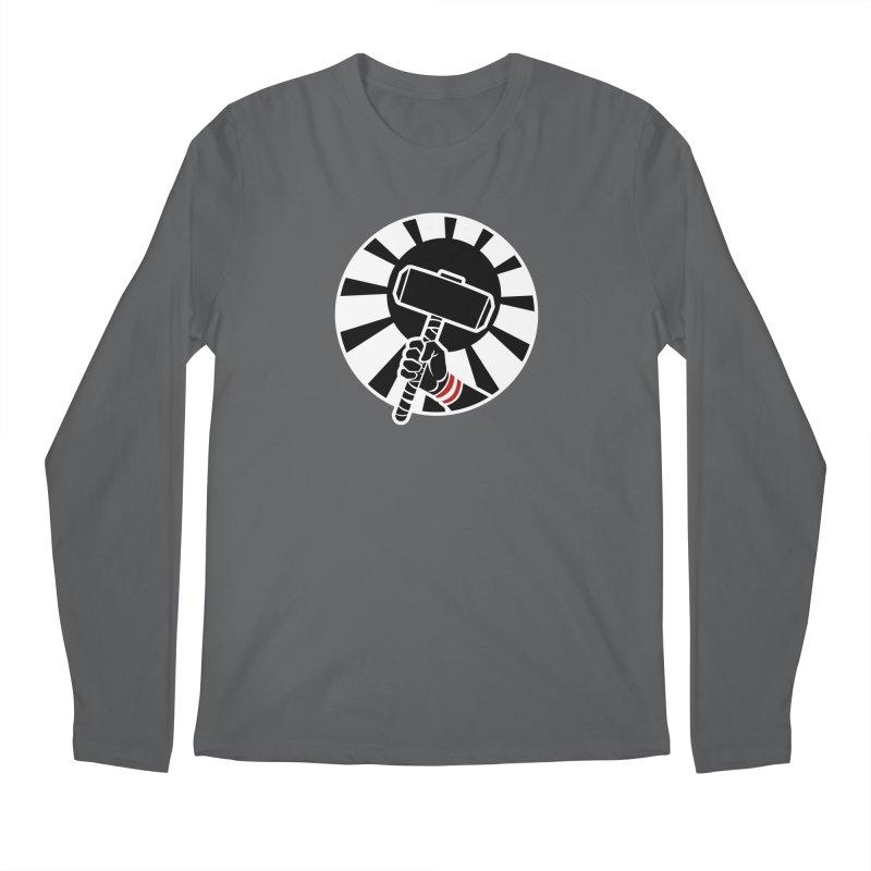 Beware my Aesir Power! - Negative Edition Men's Longsleeve T-Shirt by rubioric's Artist Shop