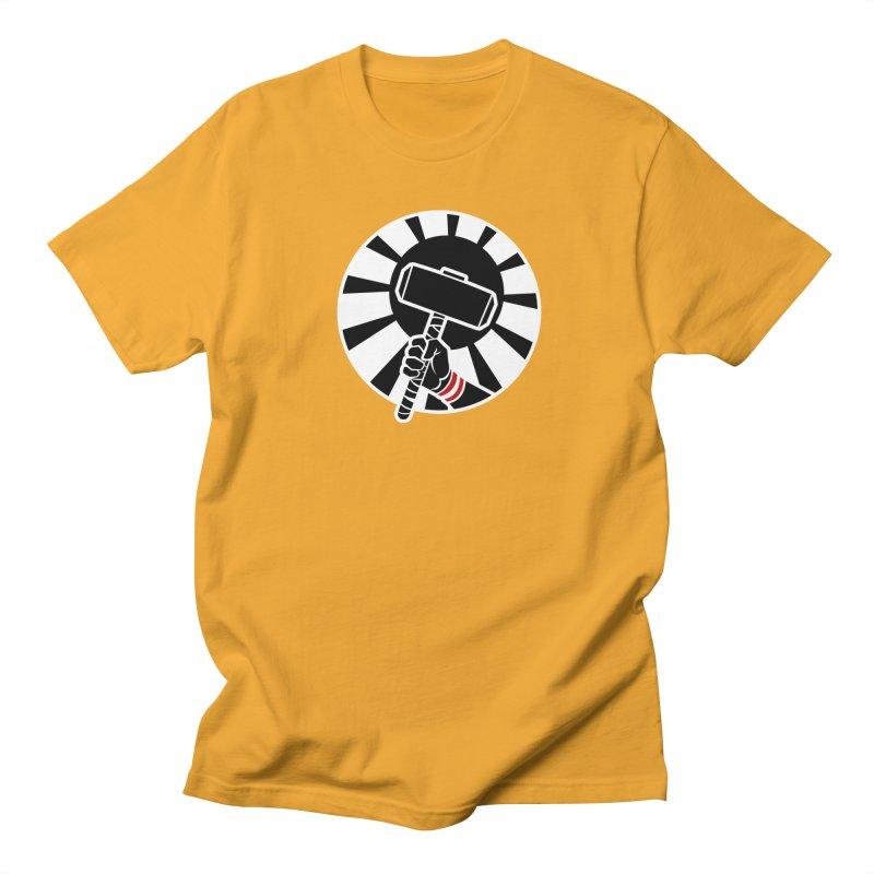 Beware my Aesir Power! - Negative Edition Men's T-Shirt by rubioric's Artist Shop