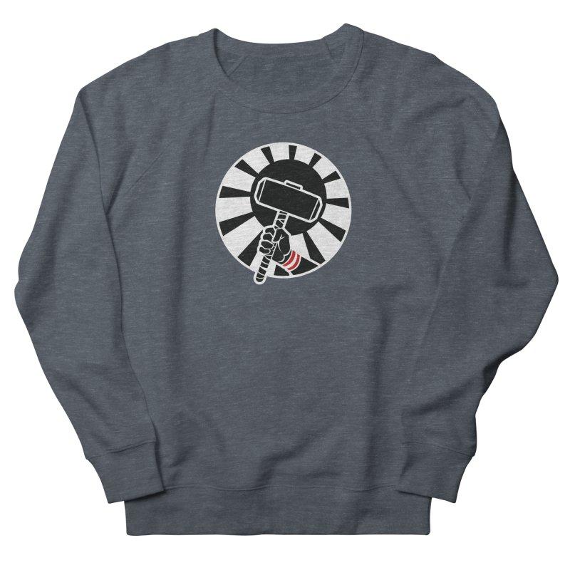 Beware my Aesir Power! - Negative Edition Women's Sweatshirt by rubioric's Artist Shop