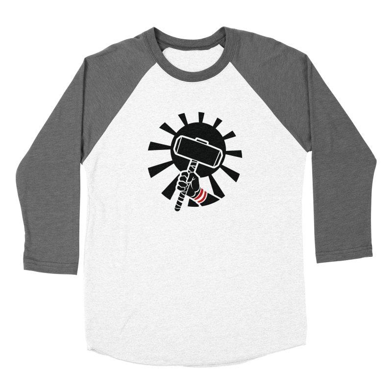 Beware my Aesir Power! - Negative Edition Men's Baseball Triblend T-Shirt by rubioric's Artist Shop