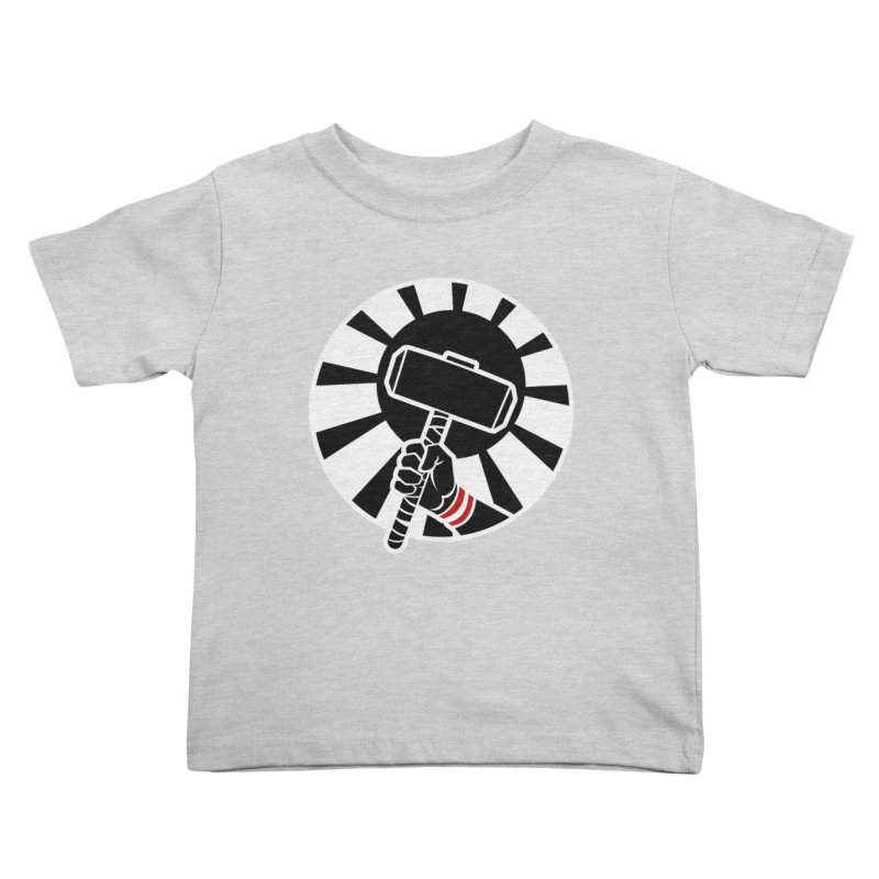 Beware my Aesir Power! - Negative Edition Kids Toddler T-Shirt by rubioric's Artist Shop