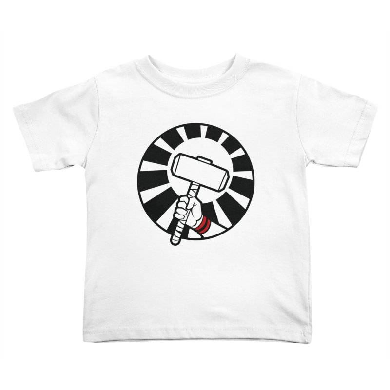 Beware my Aesir Power - Crystal Edition Kids Toddler T-Shirt by rubioric's Artist Shop