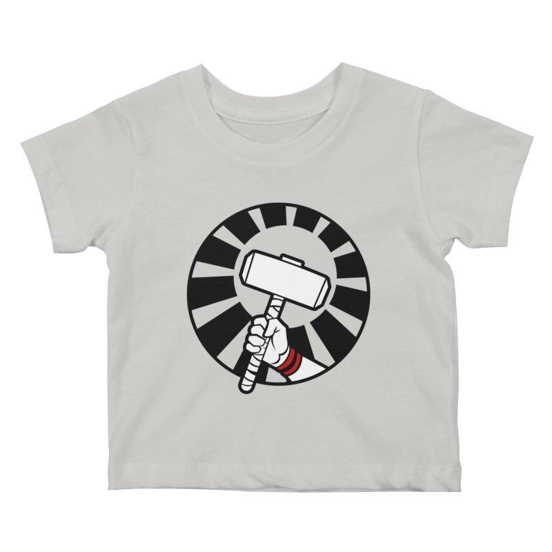 Beware my Aesir Power - Crystal Edition Kids Baby T-Shirt by rubioric's Artist Shop
