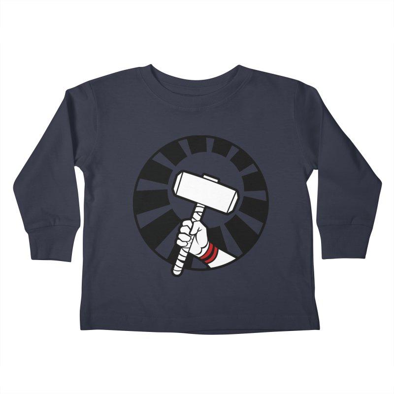 Beware my Aesir Power - Crystal Edition Kids Toddler Longsleeve T-Shirt by rubioric's Artist Shop