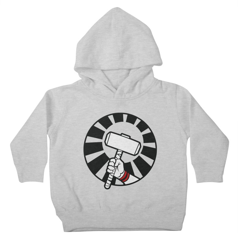 Beware my Aesir Power - Crystal Edition Kids Toddler Pullover Hoody by rubioric's Artist Shop