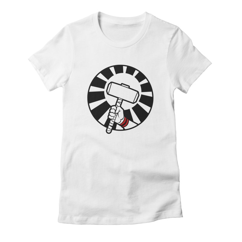 Beware my Aesir Power - Crystal Edition Women's Fitted T-Shirt by rubioric's Artist Shop