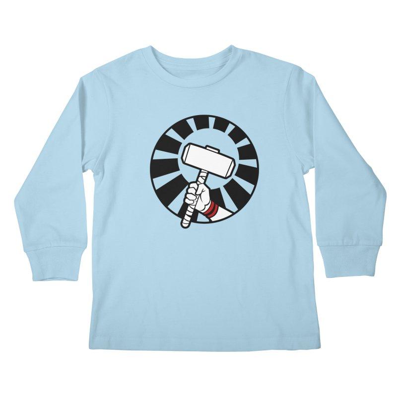 Beware my Aesir Power - Crystal Edition Kids Longsleeve T-Shirt by rubioric's Artist Shop