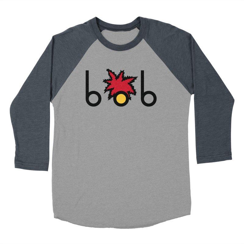 Minimal Bob Men's Baseball Triblend T-Shirt by rubioric's Artist Shop