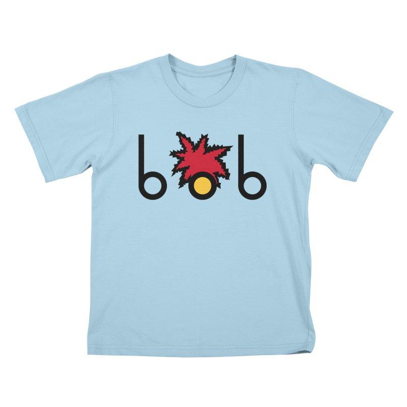 Minimal Bob Kids T-Shirt by rubioric's Artist Shop