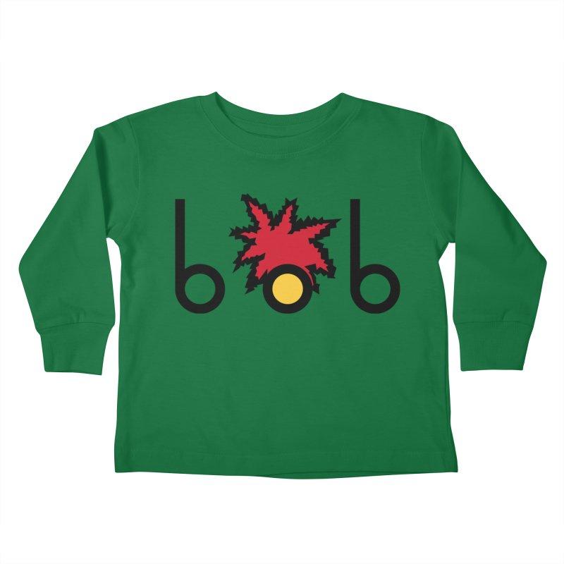 Minimal Bob Kids Toddler Longsleeve T-Shirt by rubioric's Artist Shop