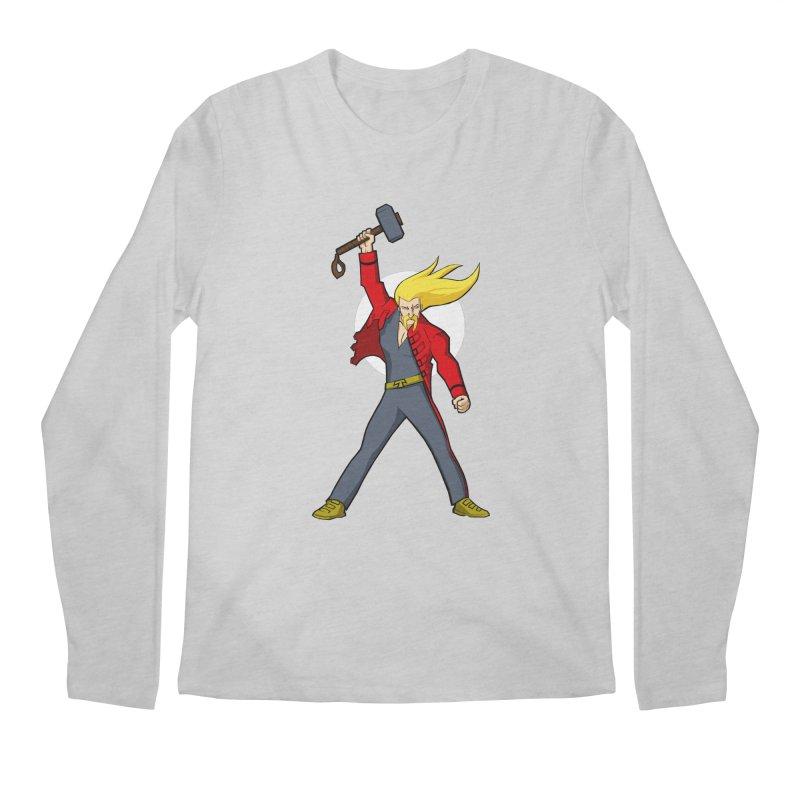 Hammer 2 Fall Men's Longsleeve T-Shirt by rubioric's Artist Shop
