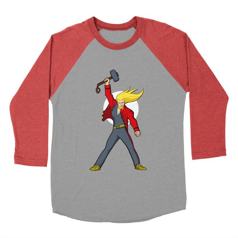 Hammer 2 Fall Women's Baseball Triblend T-Shirt by rubioric's Artist Shop