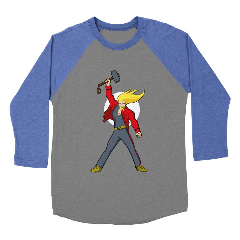 Hammer 2 Fall Men's Baseball Triblend T-Shirt by rubioric's Artist Shop