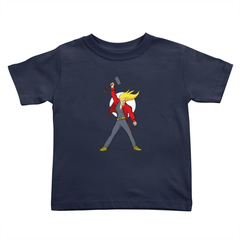 Hammer 2 Fall Kids Toddler T-Shirt by rubioric's Artist Shop