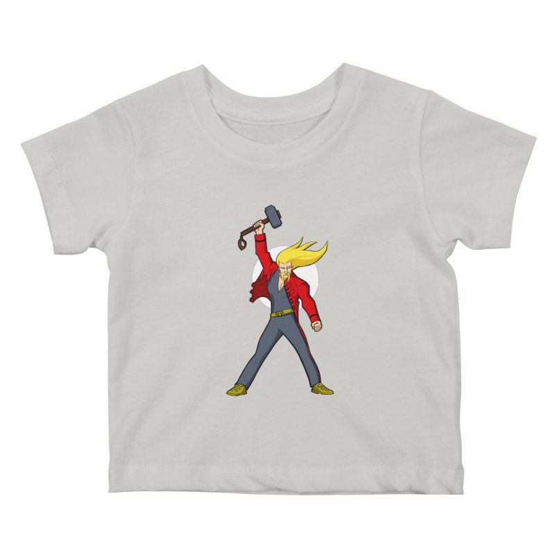 Hammer 2 Fall Kids Baby T-Shirt by rubioric's Artist Shop