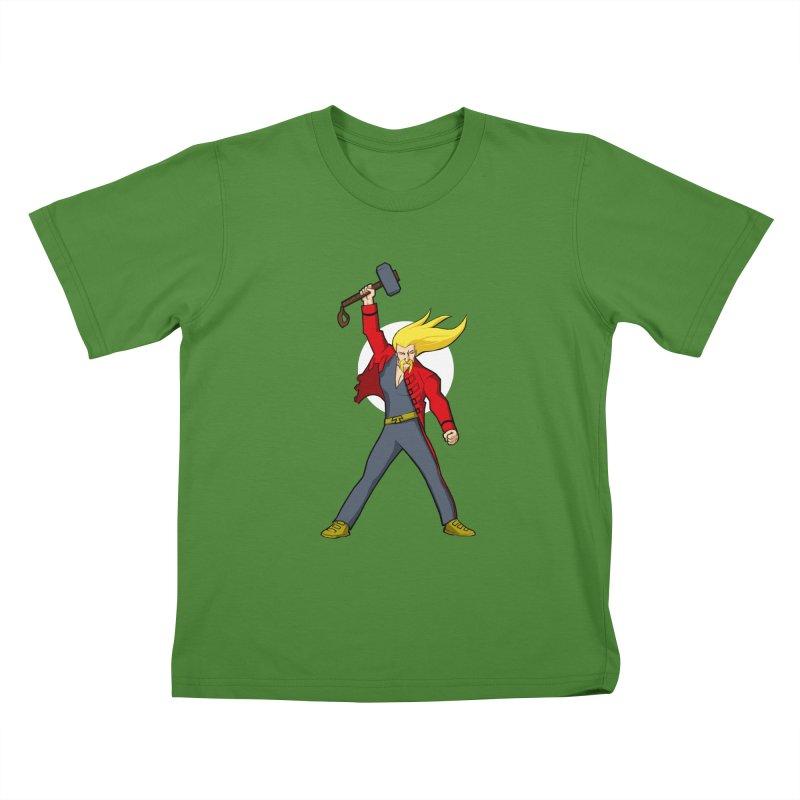 Hammer 2 Fall Kids T-shirt by rubioric's Artist Shop