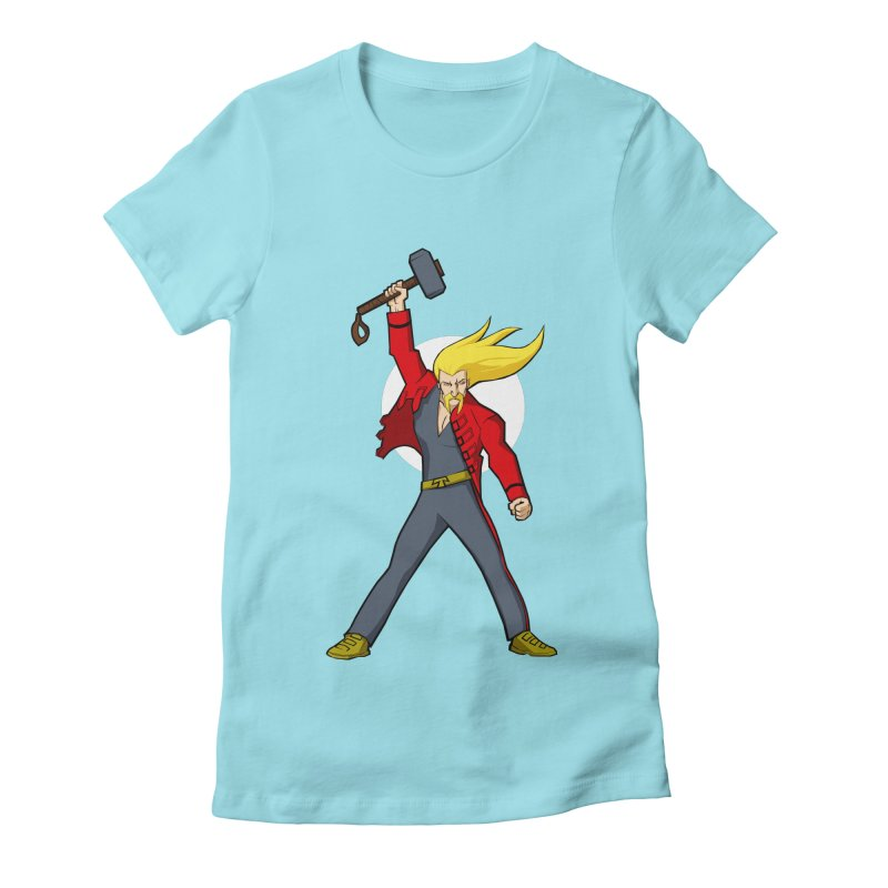 Hammer 2 Fall Women's Fitted T-Shirt by rubioric's Artist Shop