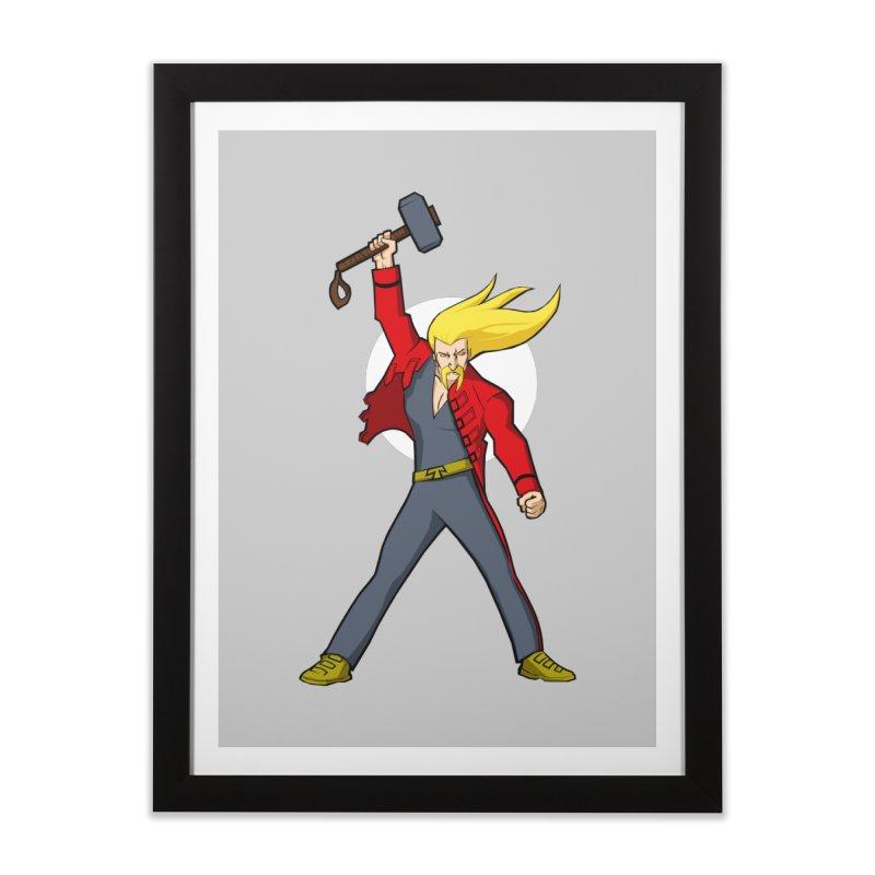 Hammer 2 Fall Home Framed Fine Art Print by rubioric's Artist Shop