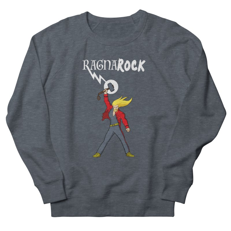 Ragnarock! Men's Sweatshirt by rubioric's Artist Shop