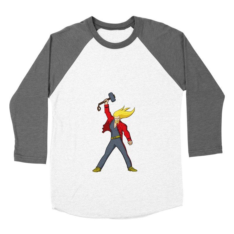 Ragnarock! Men's Baseball Triblend T-Shirt by rubioric's Artist Shop