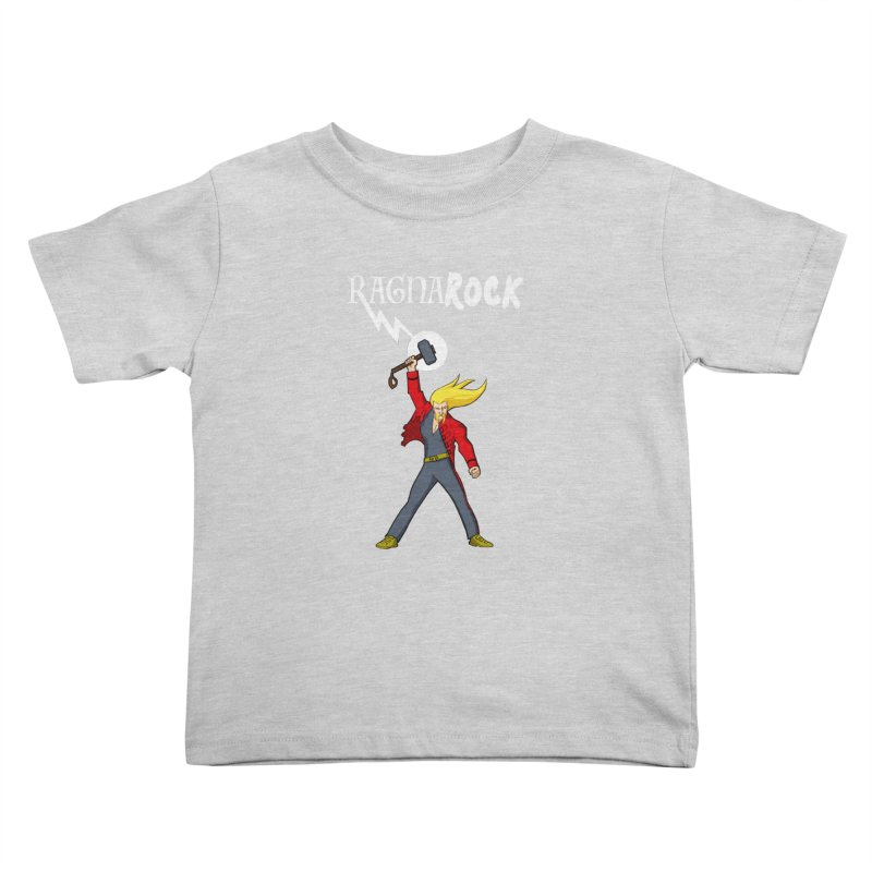 Ragnarock! Kids Toddler T-Shirt by rubioric's Artist Shop