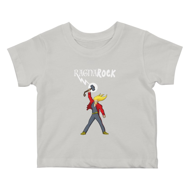 Ragnarock! Kids Baby T-Shirt by rubioric's Artist Shop
