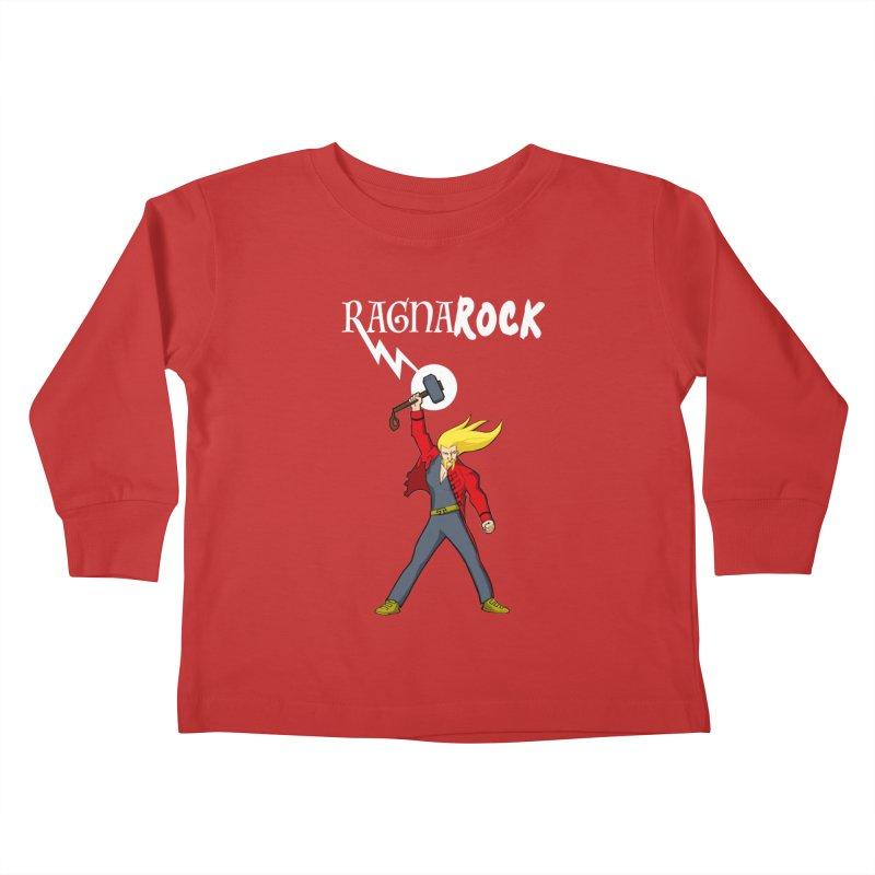 Ragnarock! Kids Toddler Longsleeve T-Shirt by rubioric's Artist Shop