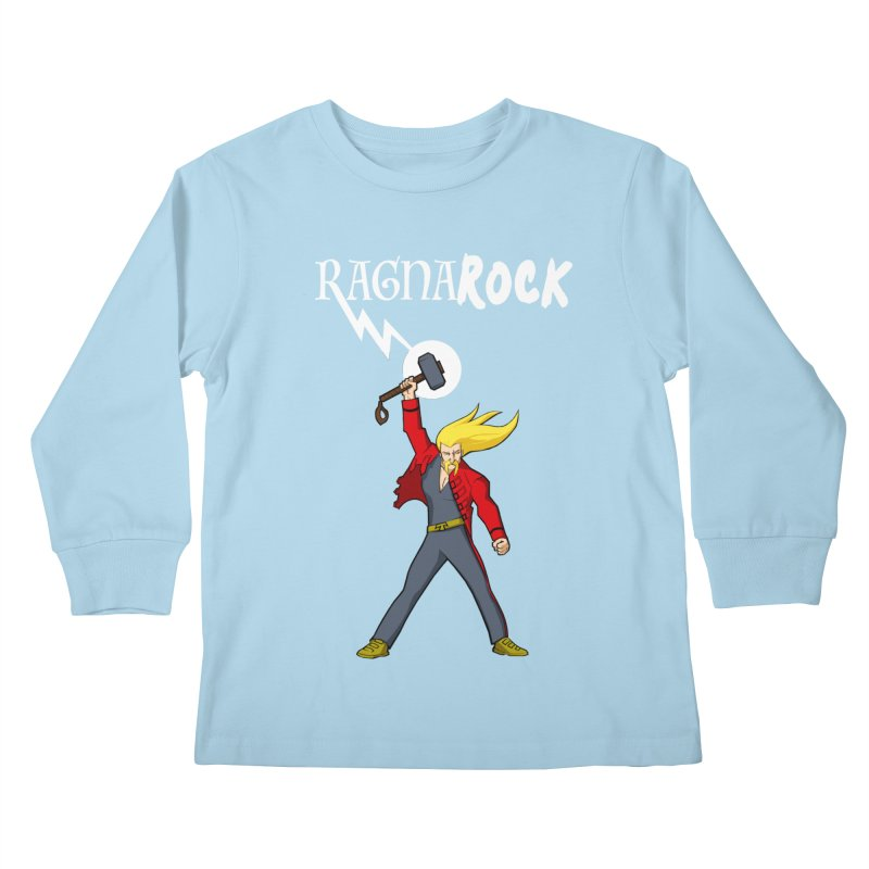 Ragnarock! Kids Longsleeve T-Shirt by rubioric's Artist Shop