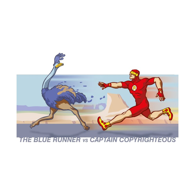Blue Runner vs Captain Copyrighteous None  by rubioric's Artist Shop